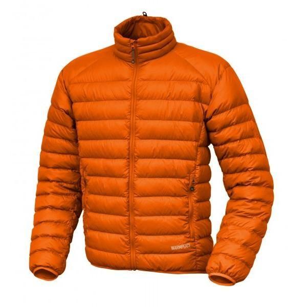 Warmpeace Drake péřová bunda orange