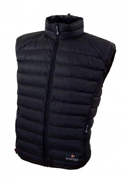 Warmpeace Drake black péřová vesta