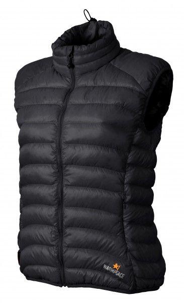 Warmpeace Swan lady péřová vesta black