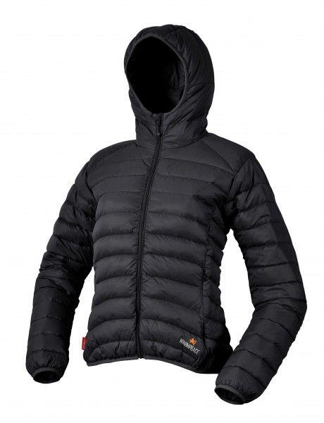 Warmpeace Vikina lady black dámská péřová bunda