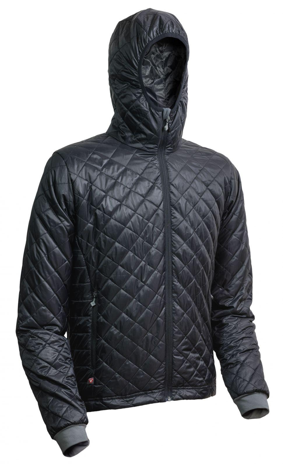 Warmpeace Spirit black / black pánská bunda zateplená PrimaLoftem