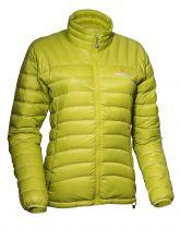 Warmpeace Swing lady péřová bunda citronelle