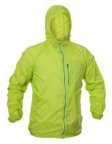 Warmpeace Forte lime ultralehká bunda celopropínací Unisex