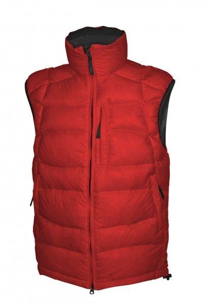 Warmpeace Ascent vesta péřová z materiálu Nylon DWR červená