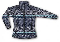 Warmpeace Norwega lady blue/white