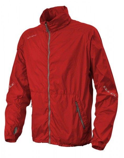 Ultralehká bunda celopropínací Warmpeace Speed flag red