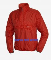 Ultralehká bunda přes hlavu Warmpeace Escape flag red