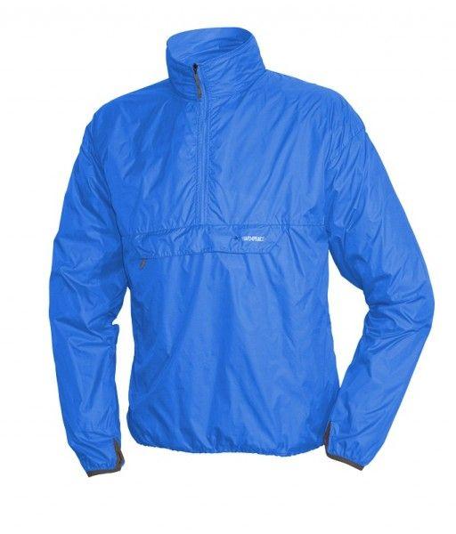 Ultralehká bunda přes hlavu Warmpeace Escape sky blue