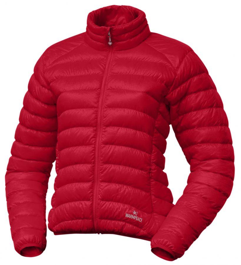 Warmpeace Swan lady péřová bunda red