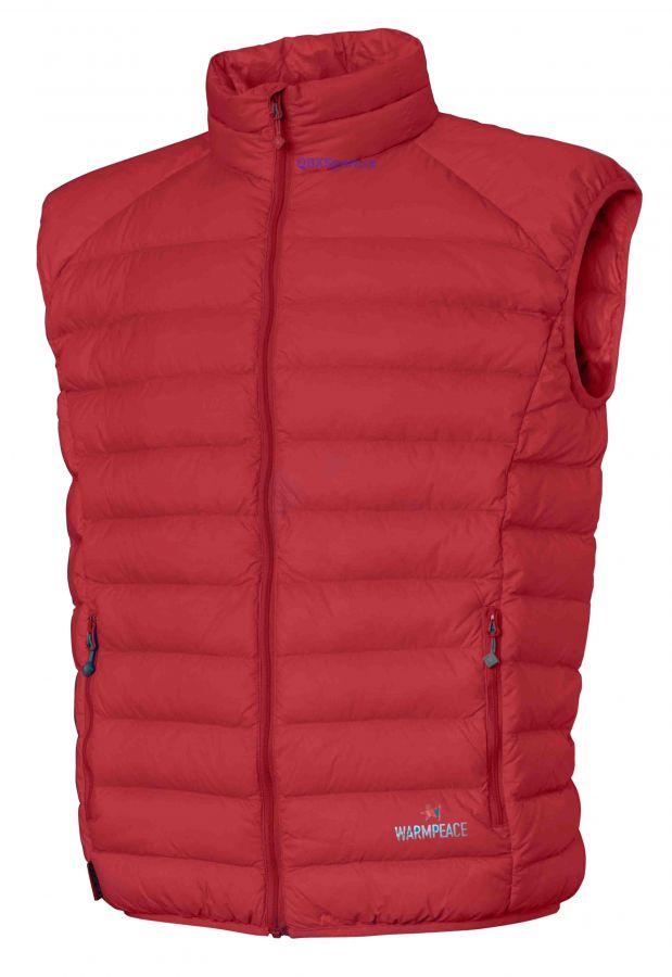 Warmpeace Drake péřová vesta red