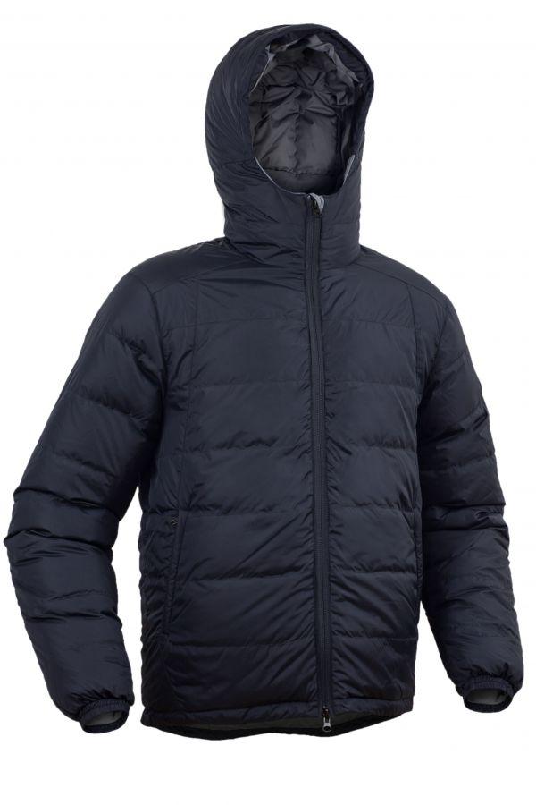 Warmpeace Pioneer black pánská péřová bunda