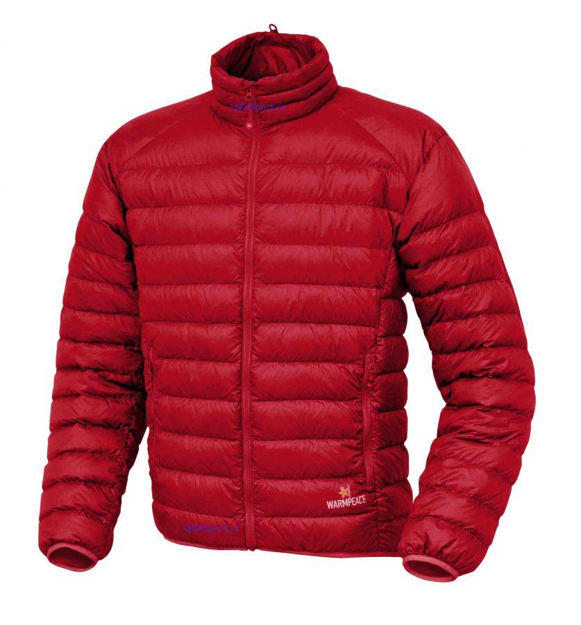 Warmpeace Drake péřová bunda red