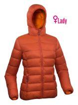 Warmpeace Tacoma lady orange/fuego orange dámská péřová bunda