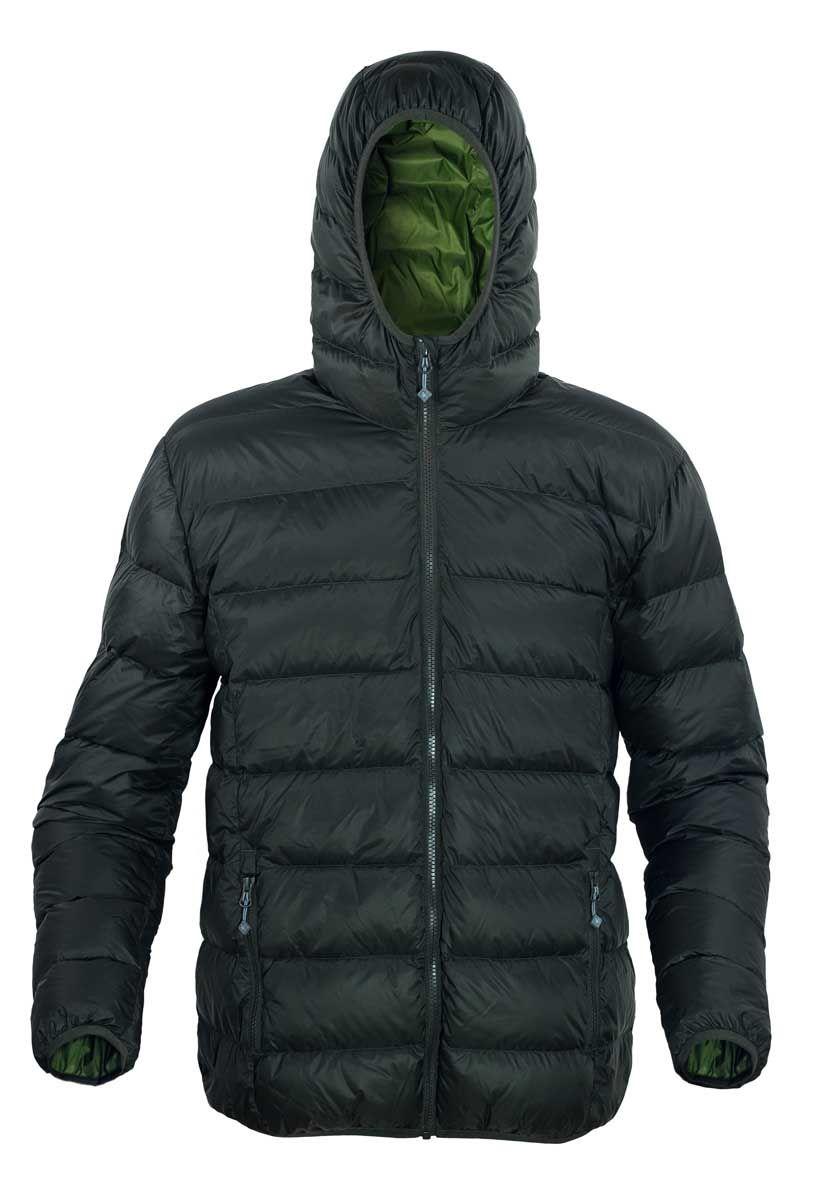 Warmpeace Vernon olive/green péřová bunda