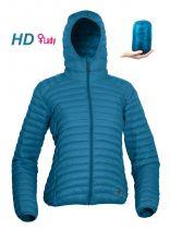 Warmpeace Vikina lady HD blue dámská péřová bunda