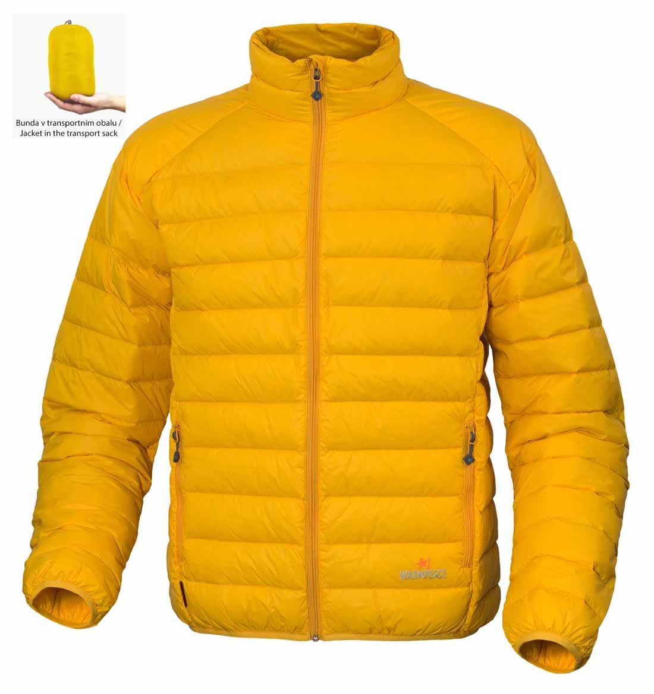 Warmpeace Drake péřová bunda mango