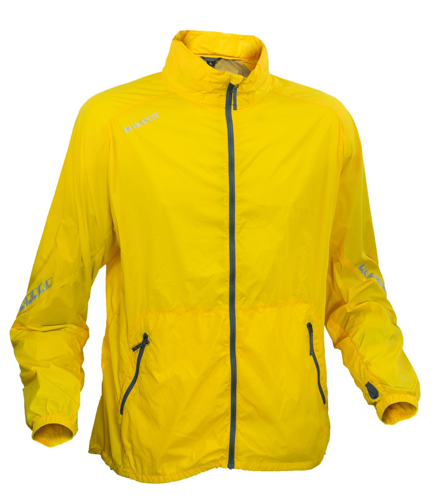 Warmpeace Speed yellow Ultralehká bunda celopropínací Unisex